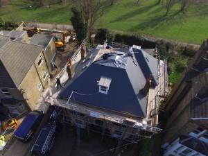 Balham Natural Slate Roof